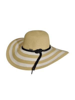Шляпа Betmar. Цвет: белый, бежевый