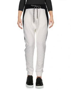 Повседневные брюки TILL.DA. Цвет: белый