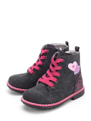 Ботинки Indigo. Цвет: серый