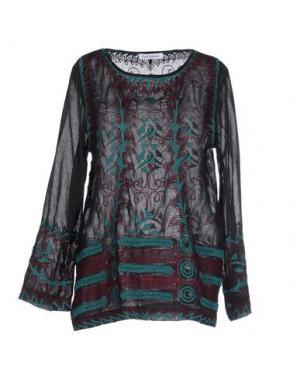 Блузка GAT RIMON. Цвет: черный