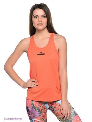 Майка STU LOOSE TANK Adidas. Цвет: оранжевый