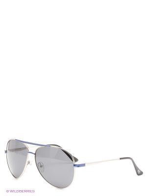 Солнцезащитные очки Mario Rossi. Цвет: серебристый