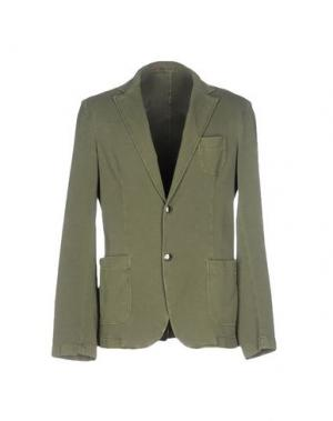 Пиджак FRADI. Цвет: зеленый-милитари