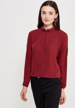 Блуза Befree. Цвет: бордовый