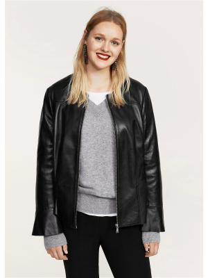 Куртка - DONALD Violeta by Mango. Цвет: черный
