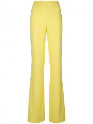Расклешенные широкие брюки Emilio Pucci. Цвет: жёлтый и оранжевый