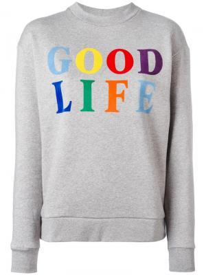 Толстовка Good Life Être Cécile. Цвет: серый
