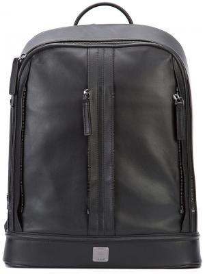 Классический рюкзак MCM. Цвет: чёрный