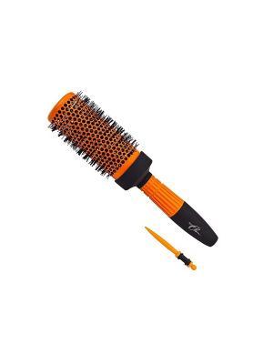 Термобрашинг Milen Classic 1362608, керамический, Soft-Touch. пря. Цвет: черный