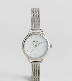 Limit Часы эксклюзивно для ASOS. Цвет: серебряный