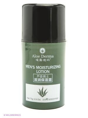 Лосьон увлажняющий для мужчин Aloe Derma. Цвет: белый