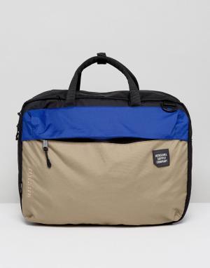 Herschel Supply Co Черная сумка для ноутбука . Britannia. Цвет: черный