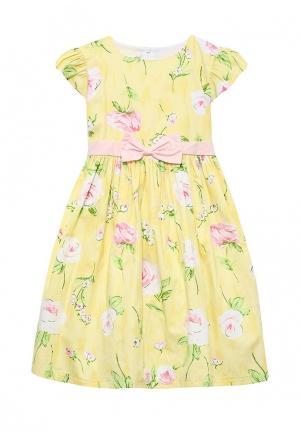 Платье Molly Rou. Цвет: желтый
