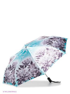 Зонт Eleganzza. Цвет: бирюзовый, лиловый