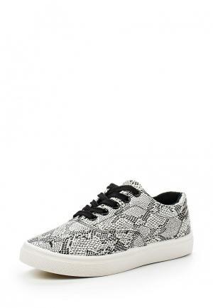 Кеды WS Shoes. Цвет: черно-белый