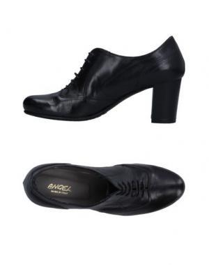 Обувь на шнурках ANGEL. Цвет: черный