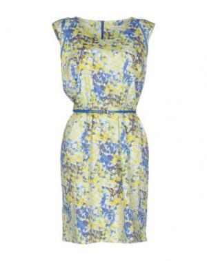 Короткое платье VIRIATO. Цвет: синий
