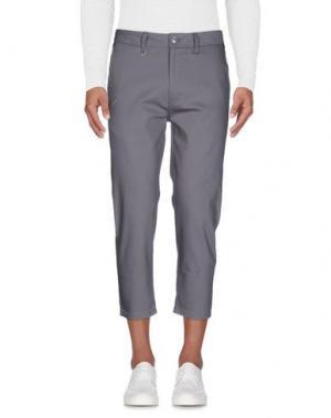 Джинсовые брюки PUBLISH. Цвет: серый