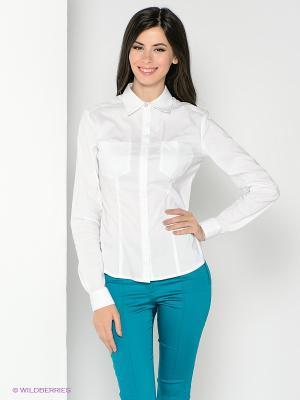 Рубашка SUGARLIFE. Цвет: белый