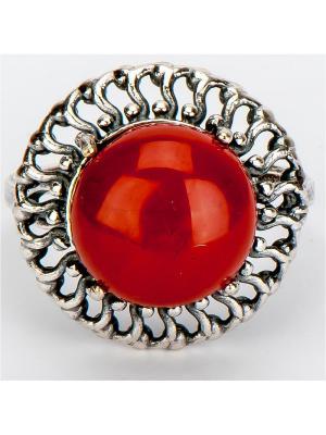 Кольцо Барсия яшма Колечки. Цвет: коричневый