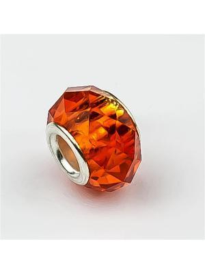 Шарм стекло Револю. Цвет: оранжевый