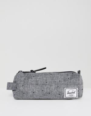 Herschel Supply Co Пенал. Цвет: серый