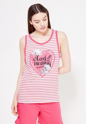 Пижама Kinanit. Цвет: розовый