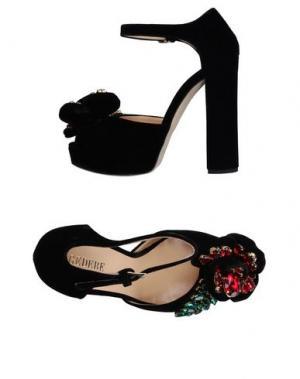 Туфли GEDEBE. Цвет: черный