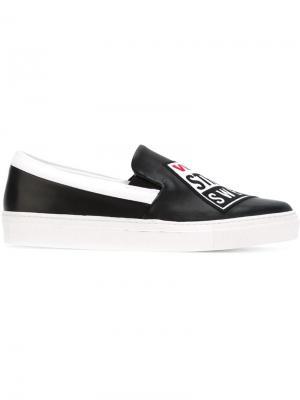 Кроссовки Vision Street Wear x Swear. Цвет: чёрный