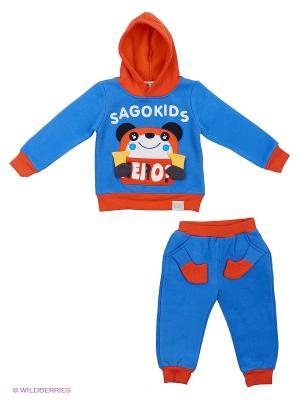 Комплект Kidly. Цвет: голубой
