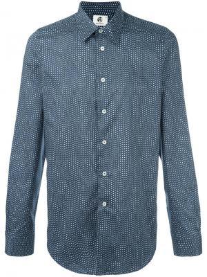 Рубашка в мелкий горошек Ps By Paul Smith. Цвет: синий