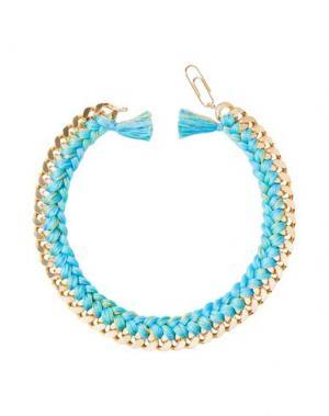 Ожерелье AURÉLIE BIDERMANN. Цвет: коралловый