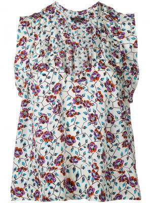 River sleeveless blouse Isabel Marant. Цвет: телесный
