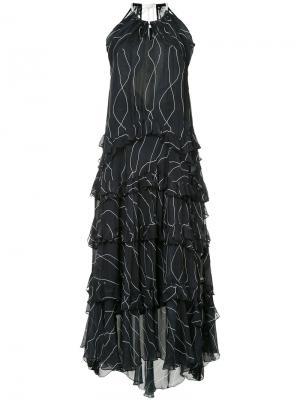 Платье Clever Collisions Manning Cartell. Цвет: чёрный