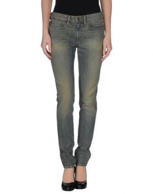 Джинсовые брюки 6397. Цвет: синий