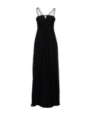 Длинное платье ROBERTA SCARPA. Цвет: черный