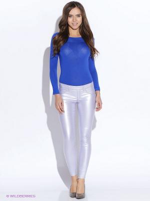Блузка- боди TuttoBene. Цвет: синий