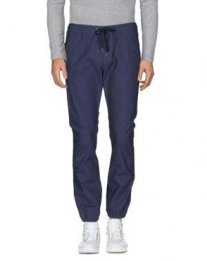 Повседневные брюки DICKIES. Цвет: грифельно-синий