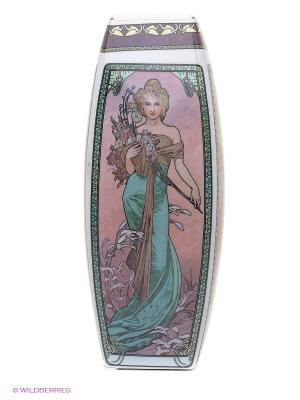 Ваза Времена года Elan Gallery. Цвет: розовый, белый, бордовый, красный