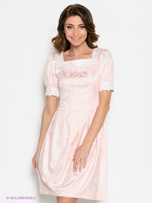 Платье Ksenia Knyazeva. Цвет: персиковый
