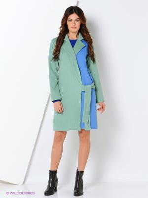 Пальто Maria Golubeva. Цвет: зеленый