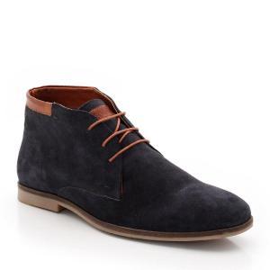 Ботинки велюровые REDSKINS. Цвет: серо-коричневый
