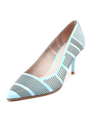 Туфли GIORGIO FABIANI. Цвет: голубой