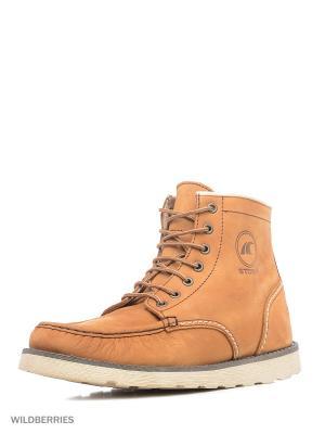 Ботинки STORM. Цвет: светло-коричневый
