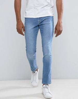 Brooklyn Supply Co. Джинсы скинни в винтажном стиле Co. Цвет: синий
