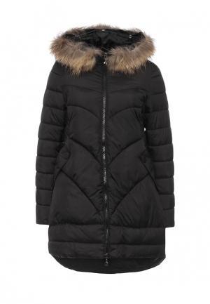 Куртка утепленная Z-Design. Цвет: черный