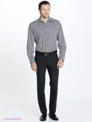 Рубашка Conti Uomo. Цвет: черный