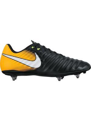 Бутсы TIEMPO LIGERA IV SG Nike. Цвет: черный