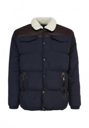 Куртка утепленная Bellfield. Цвет: синий