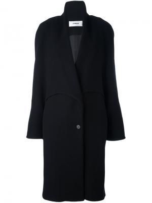 Пальто с многослойными рукавами Chalayan. Цвет: чёрный